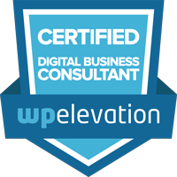 Certified Digital Business Consultant badge