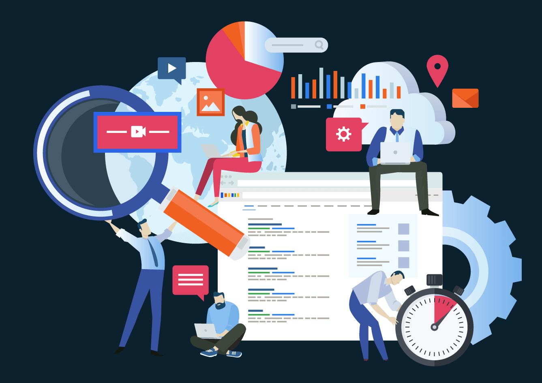 Impact of website design on SEO